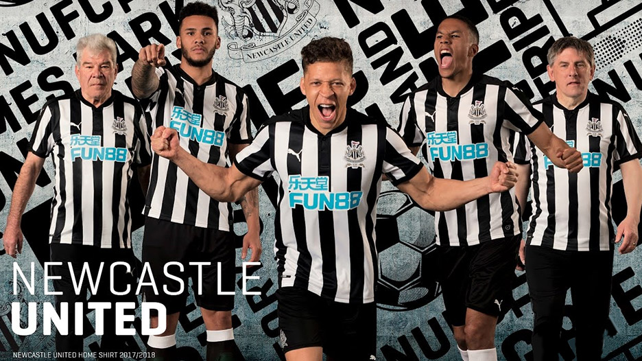 Fun88 is long term partner with Newcastle United Football Club as its official shirt sponsor